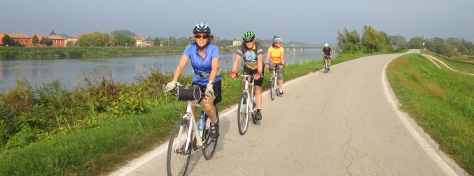A new bike path along the Arno will offer 220 kms of flat, easy cycling in Tuscany