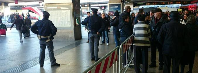 NEW: ticket check to enter train platforms at Roma Termini, Firenze S.M.N. and Milano Centrale