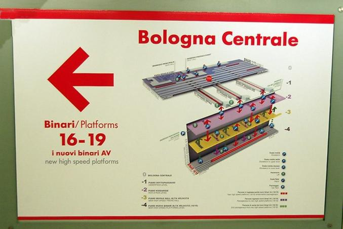 "The ""Bologna Centrale"" Train Station has New High-Speed Platforms 4 Floors Underground"