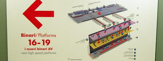 """The """"Bologna Centrale"""" Train Station has New High-Speed Platforms 4 Floors Underground"""