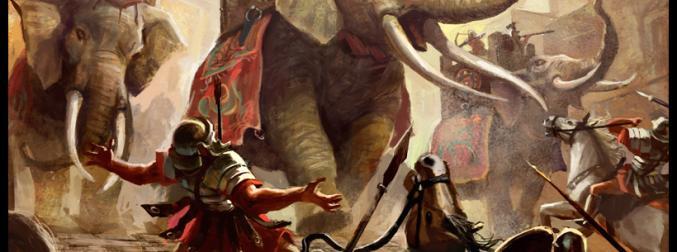 Hannibal, 100,000 men and 37 elephants against the Roman Republic