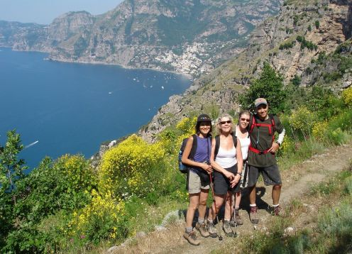 Amalfi Coast and Capri Island Walking Tour