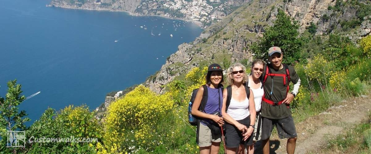 Amalfi Coast & Capri Island Hiking Tour