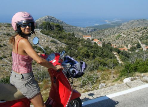 Croatia Scooter Tour