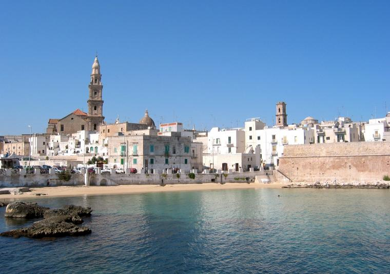 Monopoli from sea