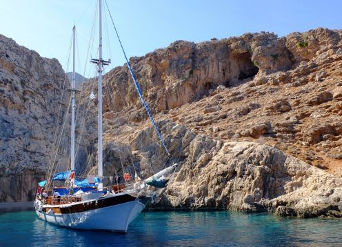 Greece Dodecanese (North) Islands Hiking Tour & Bodrum