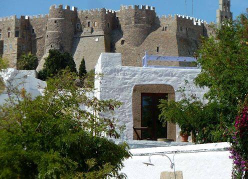 Patmos island, monastery of st. john