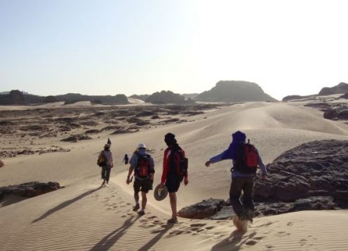 Sahara Algeria Walking Tour