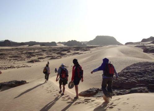 Algerian Sahara Walk