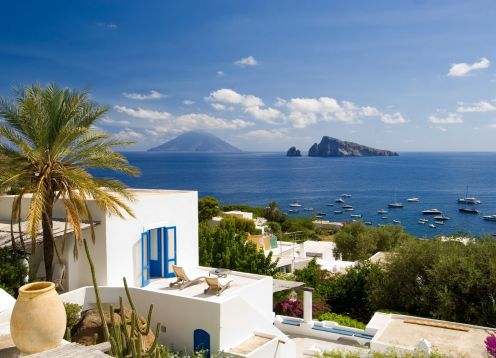 Sicily Aeolian Island Cruise & Hiking Tour