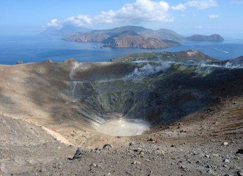 Vulcano volcano aeolian islands,sc