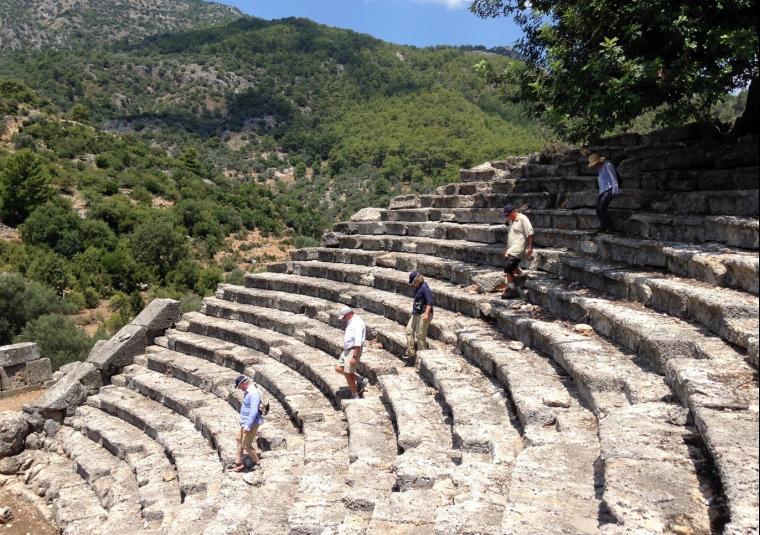 10 turkey lycian ruins