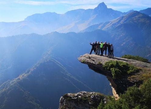 Val maira hiking