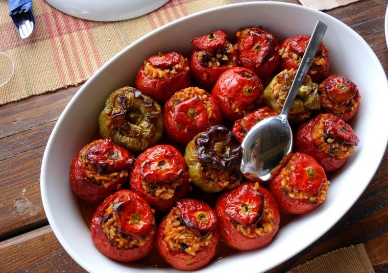 Stuffed peppers x zagori website