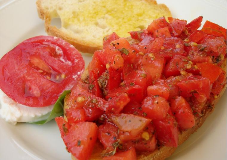 Food bellissima bruschetta!