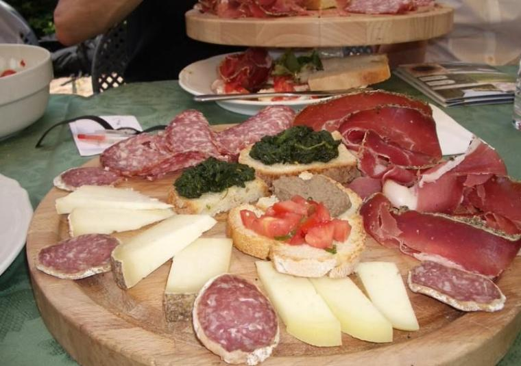 Affetati  cheese, scaled