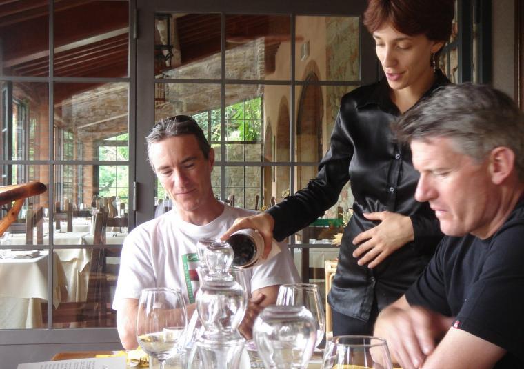 Brett  waitress il borro