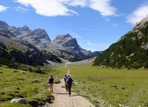 Dolomites Grand Traverse, Italian Alps Hiking