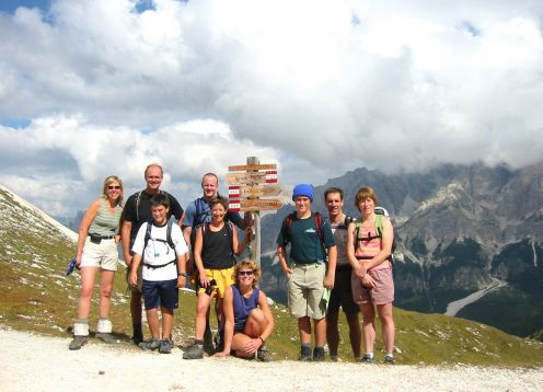 Dolomites Family Hike