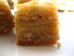 baklava is a traditional greek dessert